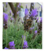 Lavender Fields  Fleece Blanket