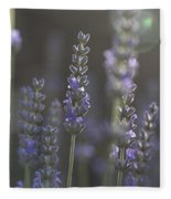 Lavender Flare. Fleece Blanket
