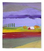 Lavender Hills Fleece Blanket