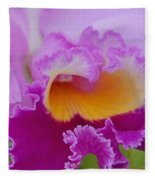 Lavender Orchid Fleece Blanket