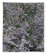 Lavender Silver Lining Fleece Blanket