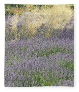 Lavender Fleece Blanket