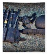 Law Enforcement -swat Gear - Entry Tools Fleece Blanket