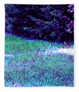 Lawn Blue Fleece Blanket