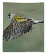 Lawrences Goldfinch Fleece Blanket