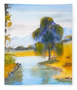 Lawson River Fleece Blanket