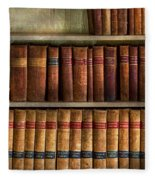Lawyer - Books - Law Books  Fleece Blanket