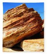 Layered Broome Rock Fleece Blanket