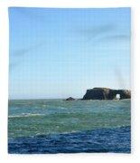 Layers Of Blue Fleece Blanket