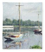 Le Bassin D'argenteuil Fleece Blanket