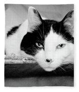 Le Cat Fleece Blanket