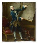 Le Comte De Vaudreuil Fleece Blanket