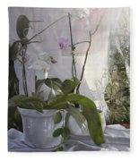 Le Orchidee Sfumate Fleece Blanket