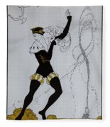Le Pavillion D'armider Fleece Blanket