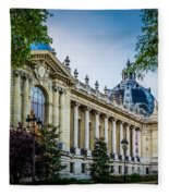 Le Petit Palais Fleece Blanket