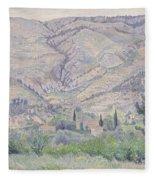 Le Ragas, Near Toulon, 1930 Fleece Blanket