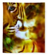 Le Tigre  Fleece Blanket