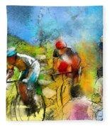 Le Tour De France 01 Fleece Blanket