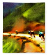 Le Tour De France 02 Fleece Blanket