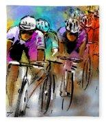 Le Tour De France 03 Fleece Blanket