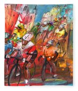 Le Tour De France Madness 04 Fleece Blanket