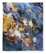 Leaf Island Fleece Blanket