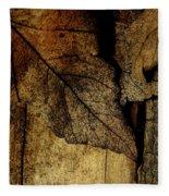 Leafwood Fleece Blanket