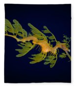 Leafy Seadragon Fleece Blanket
