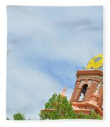 Leaning - Architectural Detail Fleece Blanket