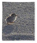 Least Tern Chick Fleece Blanket