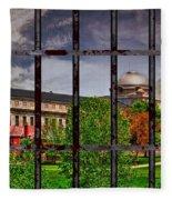 Leavenworth Federal Prison Fleece Blanket