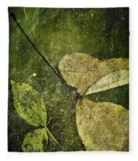 Leaves Afloat Fleece Blanket