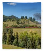 Leaving Laboto Fleece Blanket