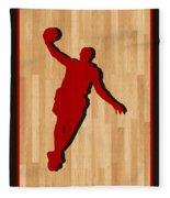 Lebron James Miami Heat Fleece Blanket