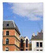 Leeds Buildings Fleece Blanket