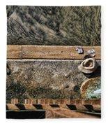 Left Behind By Diana Sainz Fleece Blanket