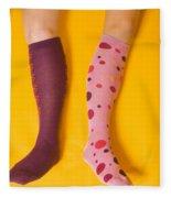 Leg Girls Fleece Blanket