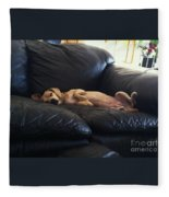 Leg Up Fleece Blanket