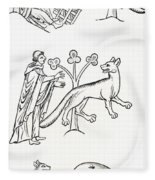 Legend Of The Priest And People Changed Fleece Blanket
