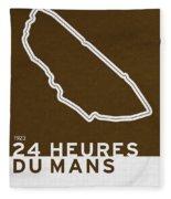 Legendary Races - 1923 24 Heures Du Mans Fleece Blanket