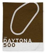 Legendary Races - 1959 Daytona 500 Fleece Blanket