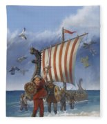 Legendary Viking Fleece Blanket