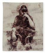 Lemmy Fleece Blanket