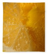 Lemon 45 Fleece Blanket