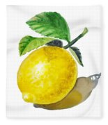 Artz Vitamins The Lemon Fleece Blanket