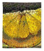 Lemon Slice Fleece Blanket