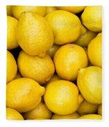 Lemons 02 Fleece Blanket