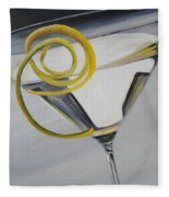 Lemontini Fleece Blanket
