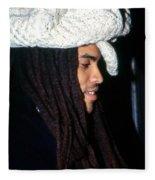 Lenny Kravitz Fleece Blanket