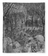 Lenox, Massachusetts, From Historical Collections Of Massachusetts, John Warner Barber, Engraved Fleece Blanket